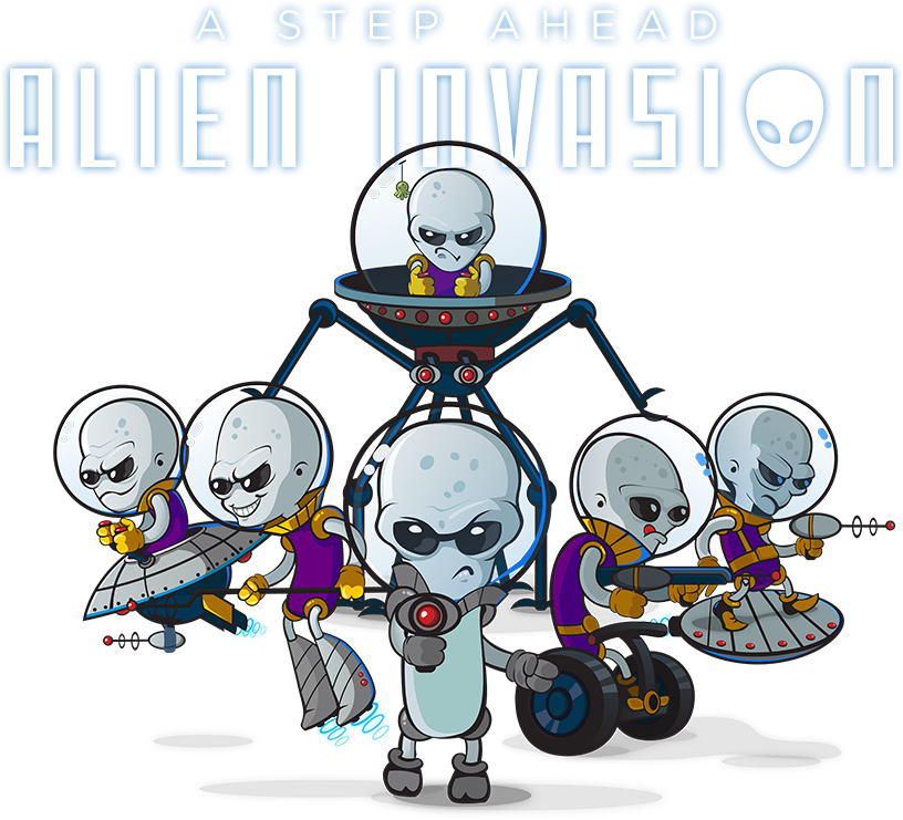 A Step Ahead: Alien Invasion