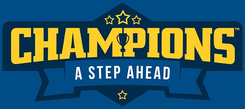 A Step Ahead: Champions