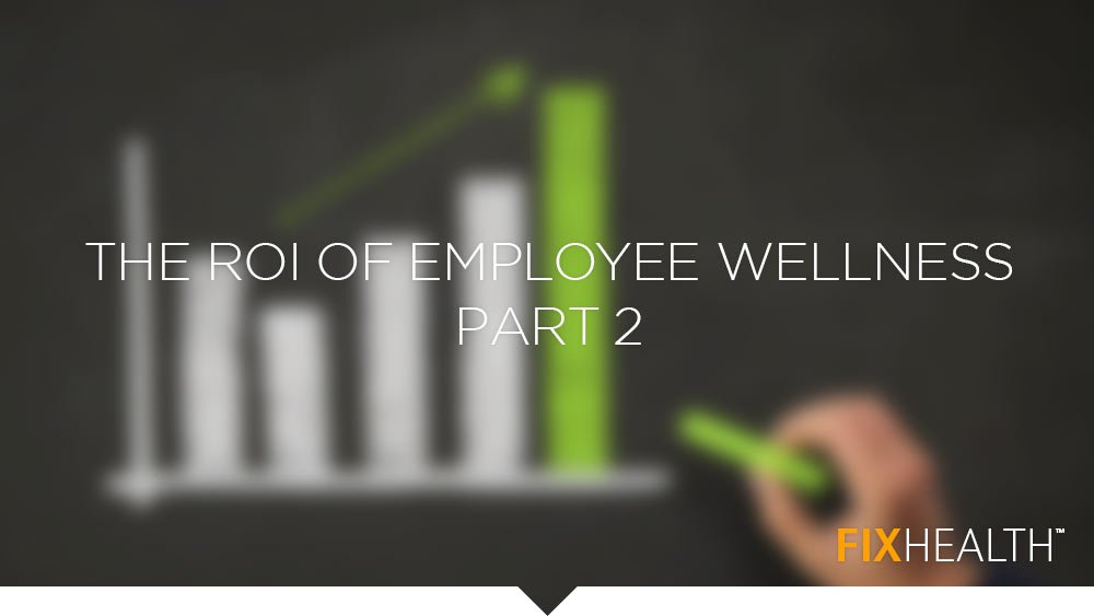 The ROI of Employee Wellness